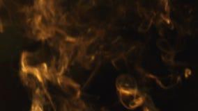 Smoke on black background Royalty Free Stock Photo