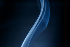 Smoke blue  Stock Images