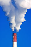 Smoke from chimney Stock Photo
