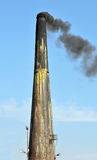 Smoke from the chimney Stock Photography