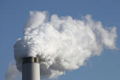 Smoke from Chimney. Stock Images