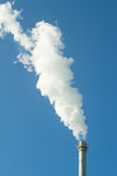 Smoke and chimney Stock Images