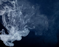 Smoke from a cigarette Royalty Free Stock Photos