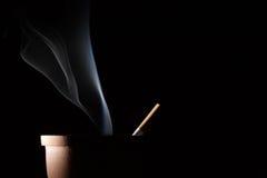 Smoke and cigarette Stock Photography