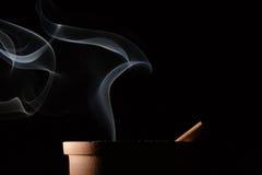 Smoke and cigarette Royalty Free Stock Image