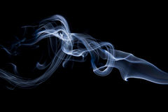 Smoke closeups Stock Images