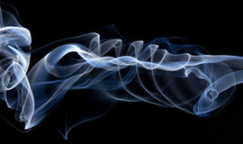 Smoke closeups Royalty Free Stock Photography