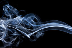 Smoke closeups Royalty Free Stock Images