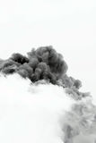 Smoke cloud explosion Royalty Free Stock Images
