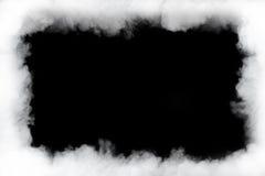 Smoke cloud frame Royalty Free Stock Images