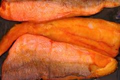 Smoke cod Royalty Free Stock Image