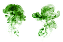 Smoke collection Royalty Free Stock Photography