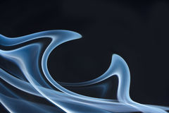 Smoke color. Royalty Free Stock Photography