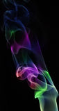 Smoke color abstract pattern Stock Photos