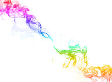 Smoke color background Stock Image