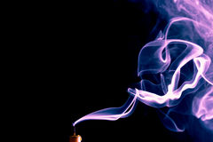 Smoke Color Royalty Free Stock Images