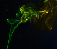 Smoke colors Stock Images