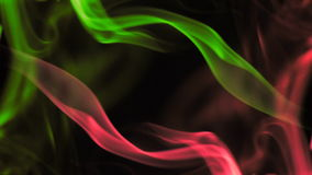 Smoke colors Royalty Free Stock Photography