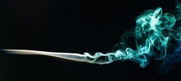 Smoke colour swirles Royalty Free Stock Photos