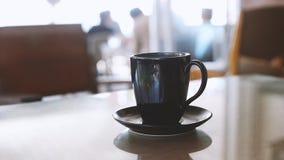Smoke on a cup of coffee