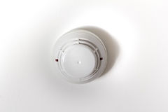 Smoke detector fire alarm Stock Photo