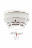 Smoke detector fire alarm Royalty Free Stock Image
