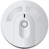 Smoke Detector. For industrial and domestic use. Vector illustration Stock Photography
