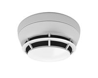 Smoke Detector Isolated. On white background. 3D render Stock Photo