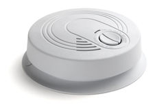 Smoke/Carbon Monoxide detector Stock Photos