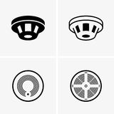 Smoke detectors. Available in high-resolution and several sizes to fit the needs of your project Stock Photography