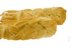 Smoke-dried cheese Stock Image