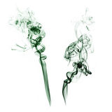 Smoke Elements. Isolated Smoke Elements royalty free stock photo