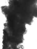 Smoke emission in atmosphere Royalty Free Stock Photo