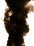 Smoke emission in atmosphere Royalty Free Stock Photos