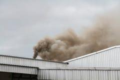 Smoke factory Stock Photo