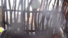 Smoke fire stock video footage