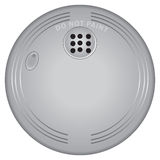 Smoke and Fire Alarm. Detection of fire and smoke for industrial and residential buildings Stock Photos