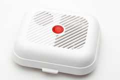 Smoke fire detector Stock Image