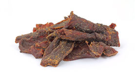 Smoke Flavored Beef Jerky Royalty Free Stock Image