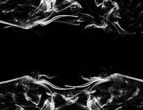 Smoke frame Royalty Free Stock Image