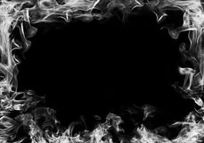 Smoke frame Stock Photography