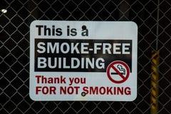 Smoke-Free Building ZSign