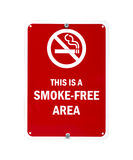 Smoke-free sign Stock Photos