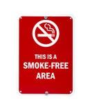 Smoke-free teken stock foto's