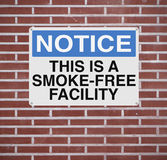 Smoke-Free Werkplaats Royalty-vrije Stock Afbeelding