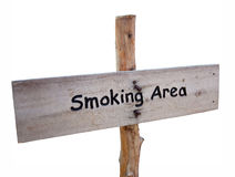 Smoke free zone Stock Images
