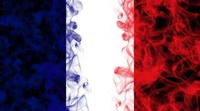 Smoke french flag Royalty Free Stock Image