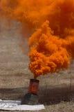 Smoke granade Stock Photography