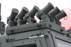 Smoke Grenade Launchers Stock Image