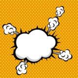 Smoke icon Royalty Free Stock Images
